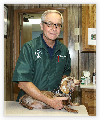 Jim Schmittel, DVM veterinarian in wright city mo
